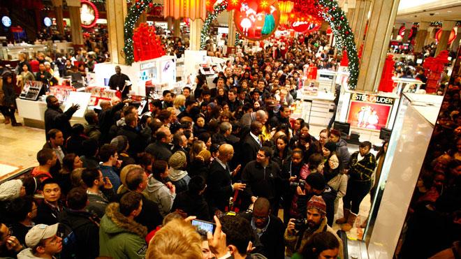 Holiday Shopping Image